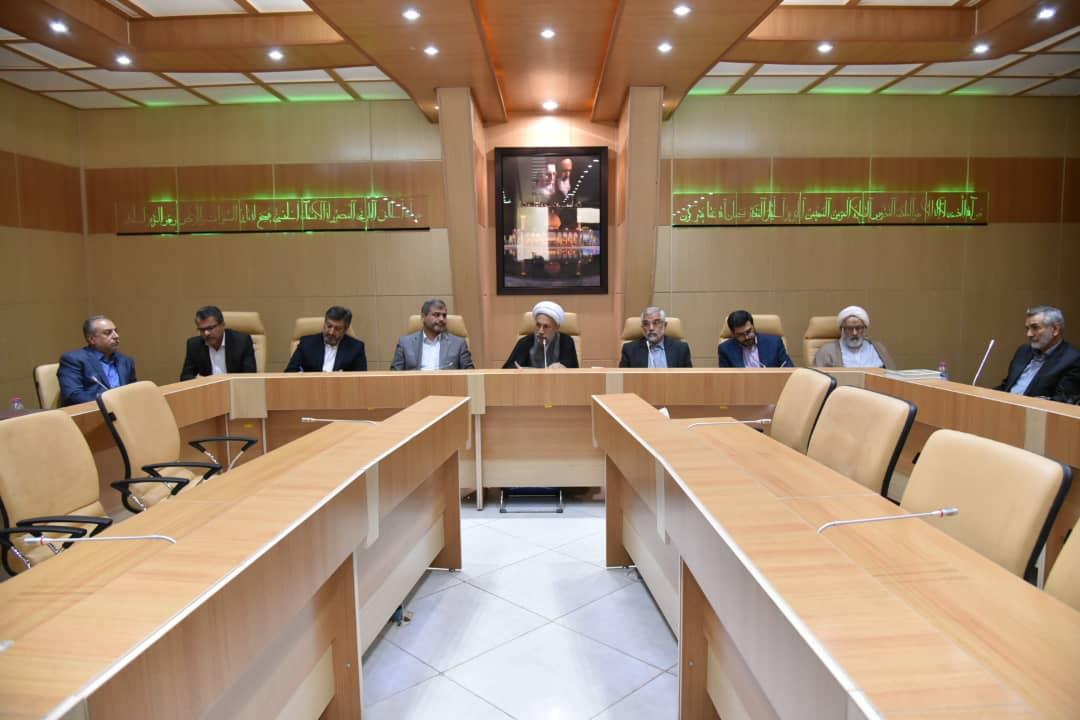 بیانات آیت الله دژکام در جلسه هماهنگی مراسم روز اربعین با حضور جمعی از مسئولین استانی