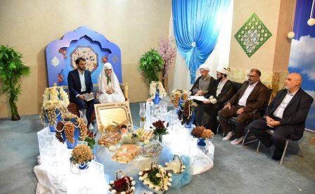 قرائت خطبه عقد زوج جوان شیرازی توسط آیت الله دژکام