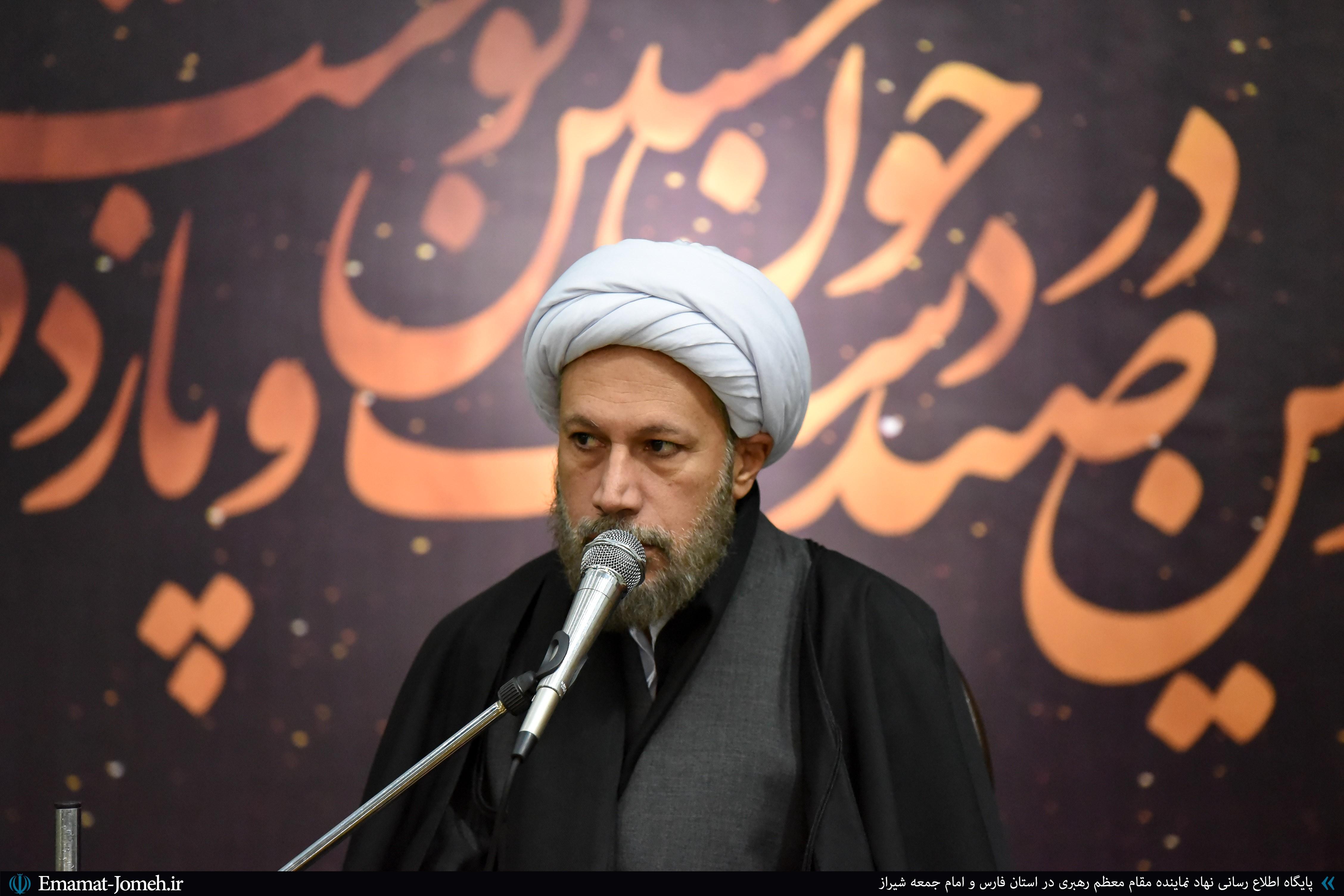 مراسم عزاداری اربعین حسینی (ع) هیئت اساتید دانشگاه های شیراز