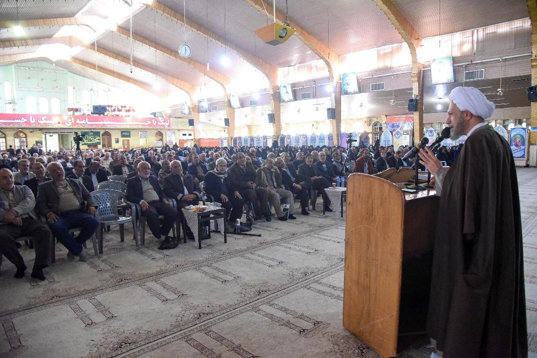 گزیده بیانات آیت الله دژکام در همایش خانوادگی کانون بازنشستگان سپاه فجر استان فارس