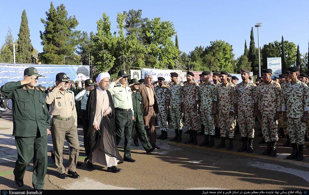گزیده بیانات آیت الله دژکام در صبحگاه مشترک نیروهای مسلح استان فارس