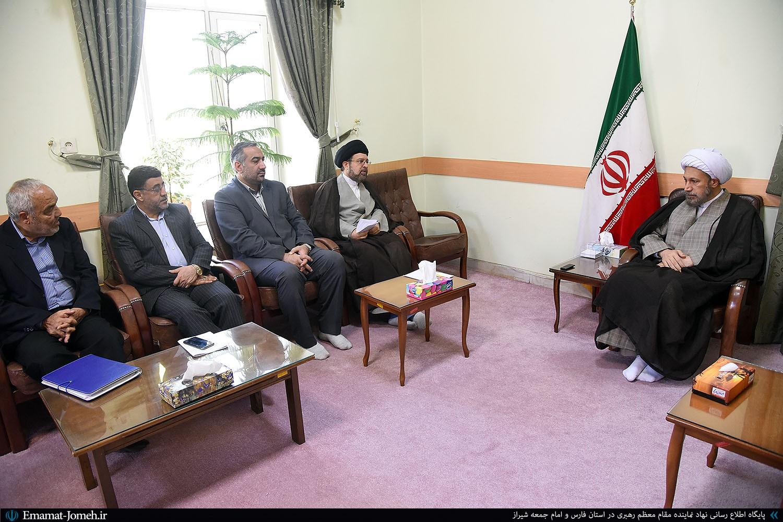گزیده بیانات آیت الله دژکام در دیدار مدیرکل دادگستری فارس و اعضای ستاد دیه استان