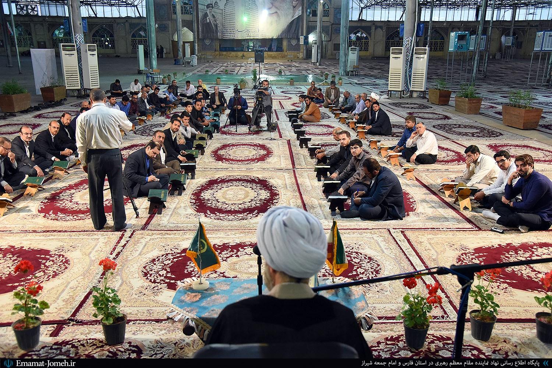 گزیده بیانات آیت الله دژکام در جمع کارکنان نهاد نماینده ولی فقیه در فارس و ستاد نمازجمعه شیراز