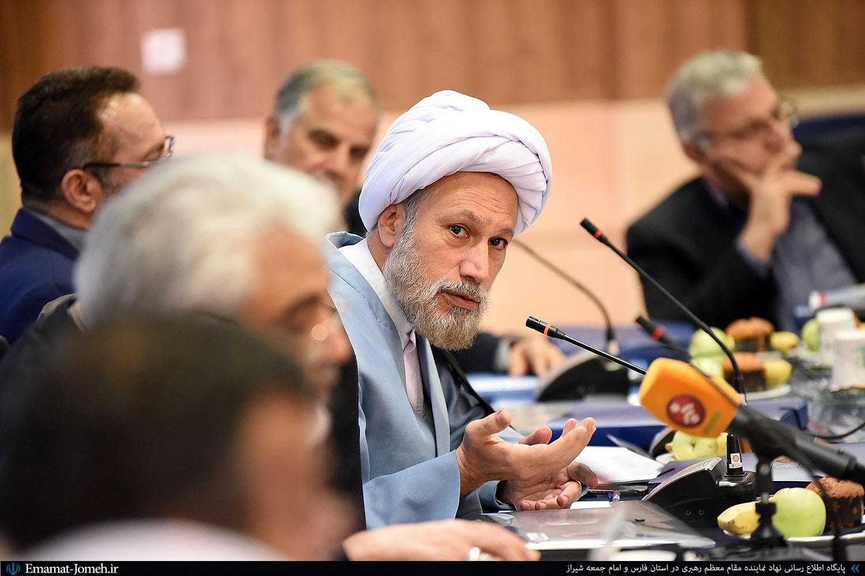 پنجمین جلسه شورای دانشگاه آزاد کل کشور با حضور آیت الله دژکام