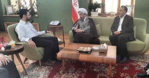 دیدار آیت الله دژکام با آقای مهندس آذری جهرمی وزیر ارتباطات و فناوری اطلاعات