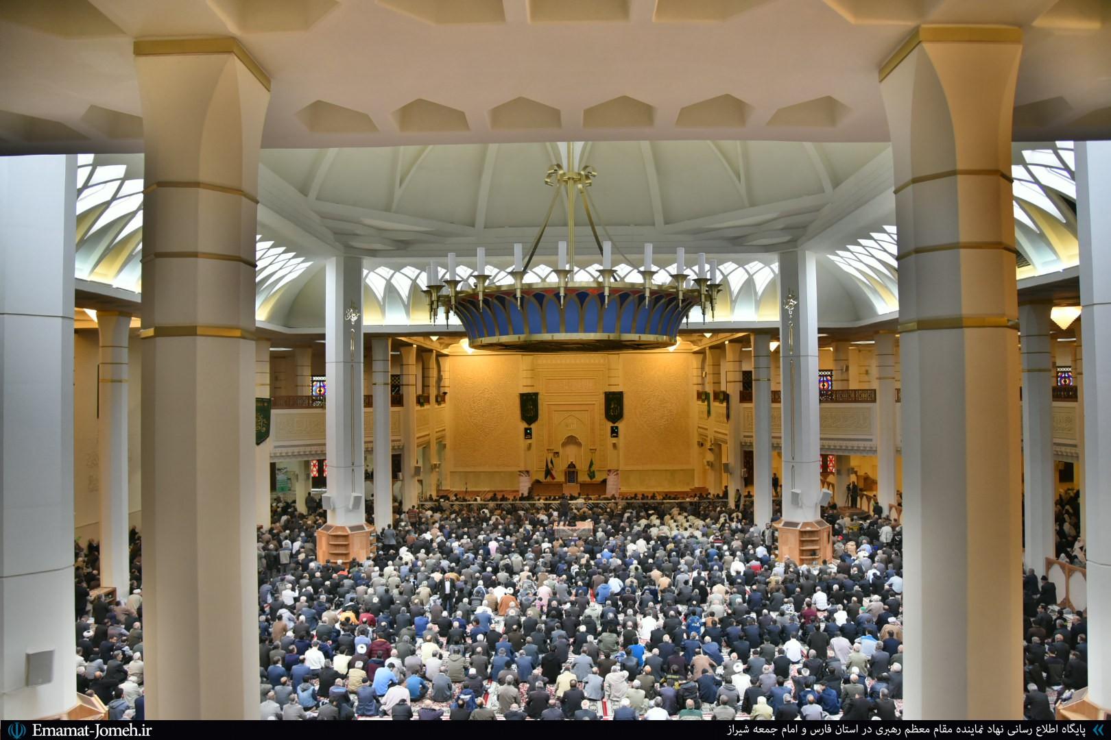 گزارش تصویری/ نماز جمعه ۲۲ آذرماه ۹۸ شیراز