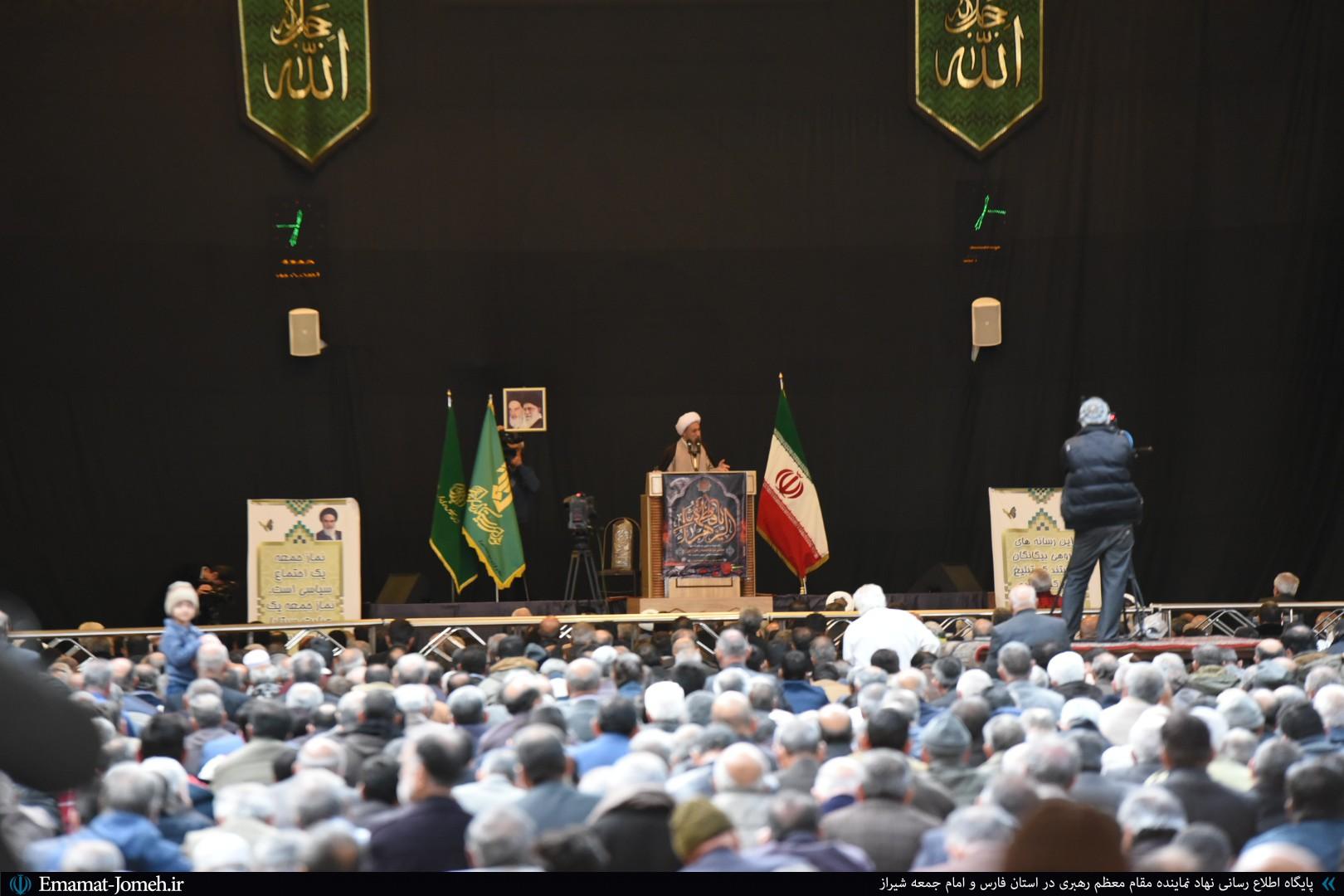 گزارش تصویری/ نماز جمعه ۴ بهمن ماه ۹۸ شیراز