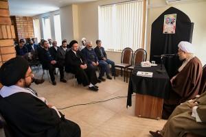 جلسه دبیران و خیرین بنیاد غدیر فارس با حضور آیت الله دژکام