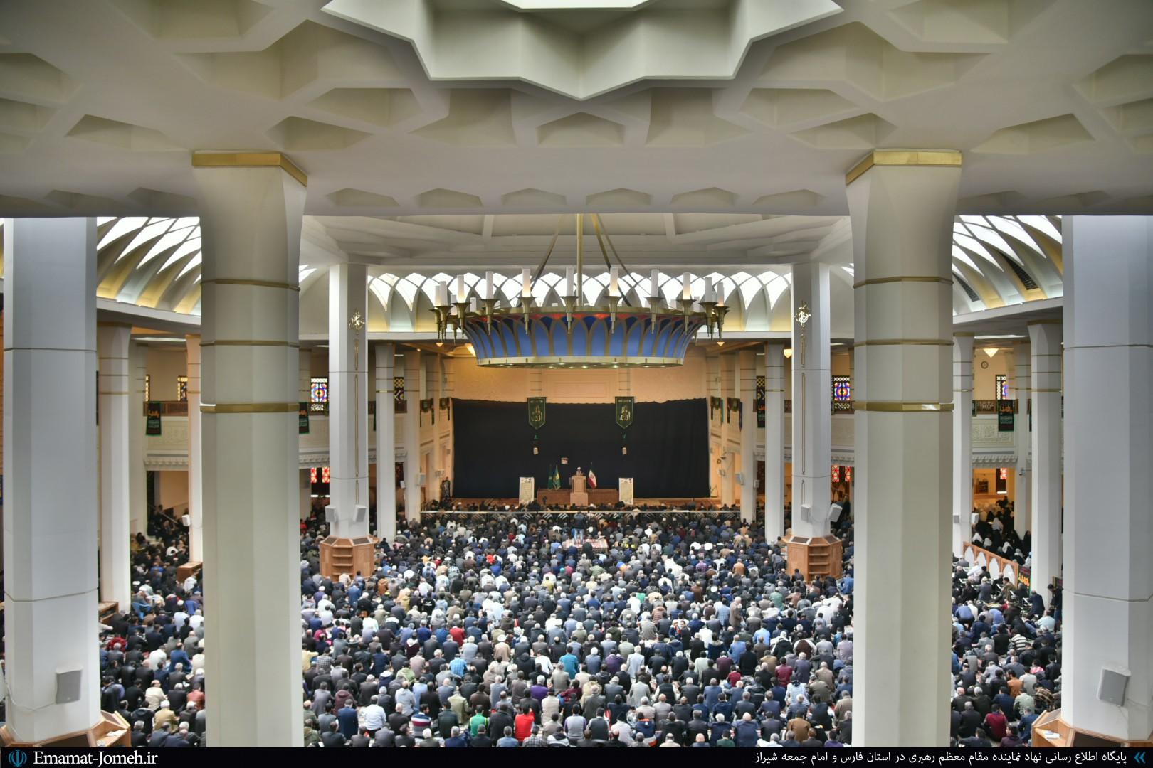 گزارش تصویری/ نماز جمعه ۱۱بهمن ماه ۹۸ شیراز