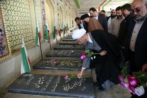 سفر آیت الله دژکام نماینده مقام معظم رهبری در استان فارس به شهرستان سپیدان