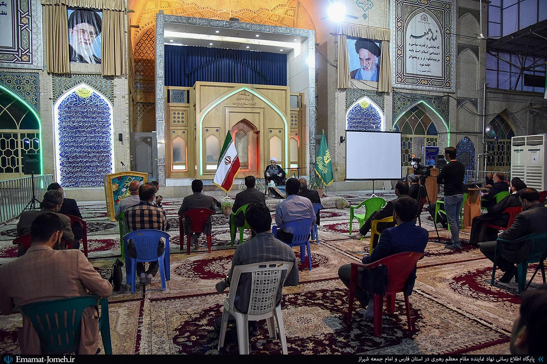 دیدار مدیران روابط عمومی ها و رسانه های استان فارس با آیت الله دژکام