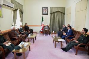 جلسه قرارگاه همدلی استان فارس در بحران کرونا با حضور آیت الله دژکام
