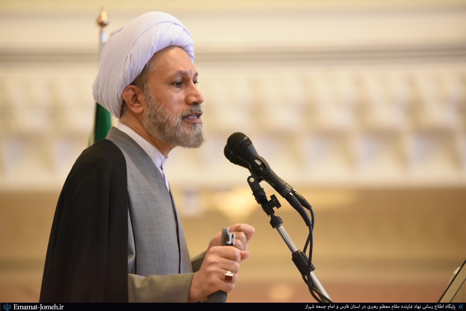 صوت نماز جمعه شیراز ۳۰ خرداد ماه ۹۹