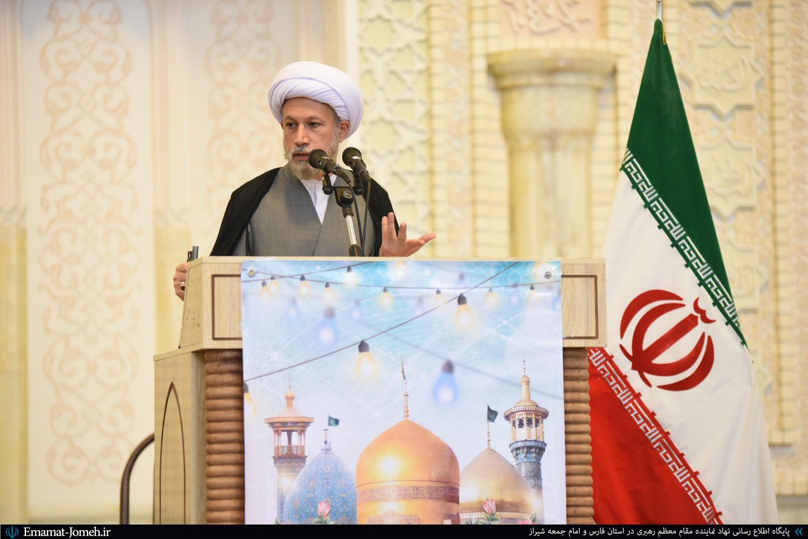 صوت نماز جمعه شیراز ۶ تیرماه ۹۹