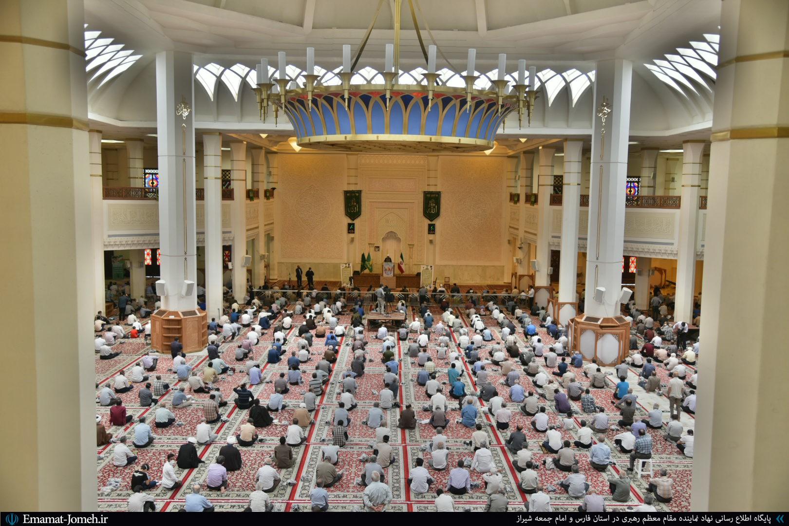 گزارش تصویری/ نماز جمعه ۶ تیرماه ۹۹ شیراز