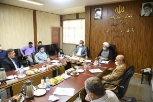 حضور آیت الله دژکام در جمع اعضای هیات نظارت بر انتخابات استان فارس