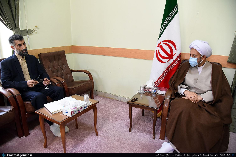 دیدار محمد سراب نشین، مدیرکل جدید زکات کمیته امداد امام خمینی(ره) با آیت الله دژکام