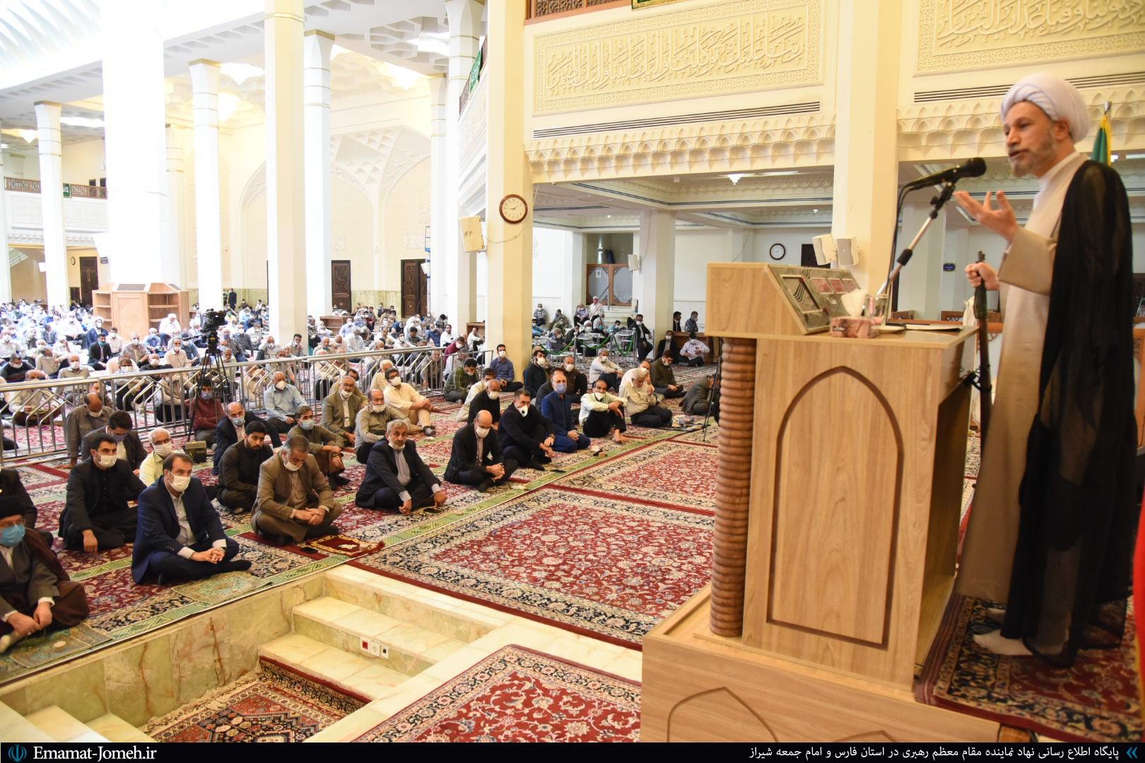 بیانات آیت الله دژکام در خطبه های نماز جمعه ۲۳ خرداد ماه ۹۹