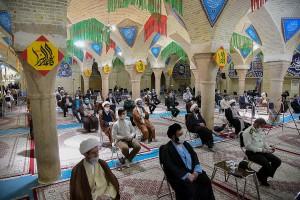 همایش بازخوانی و افشای حقوق بشر آمریکایی در شیراز با حضور آیت الله دژکام