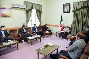 دیدار مسئولان اداره کل ارتباطات و فناوری اطلاعات استان فارس با آیت الله دژکام
