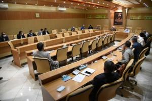 جلسه مجمع نمایندگان فارس در مجلس شورای اسلامی با حضور آیت الله دژکام