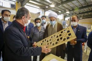 بازدید آیت الله دژکام از مجموعه فنی و حرفه ای استان فارس