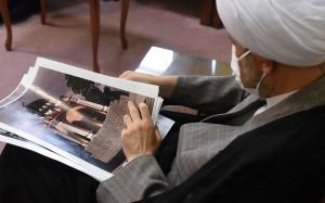 دیدار آیت الله دژکام با ریاست دانشگاه هنر شیراز