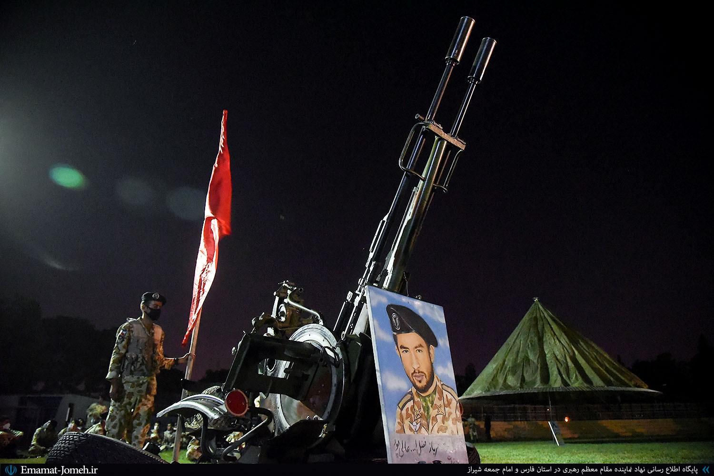 یادواره شهدای تیپ ۵۵ هوابرد شیراز با حضور آیت الله دژکام