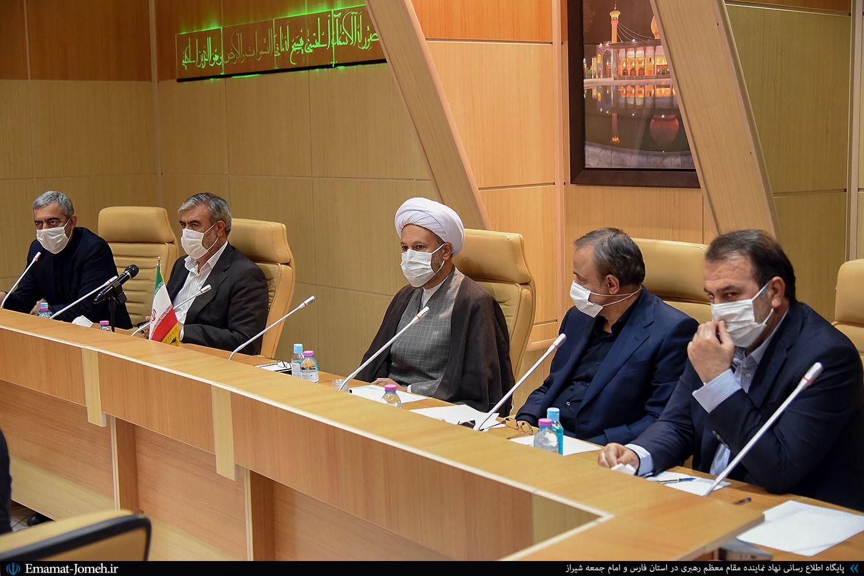 دیدار وزیر صمت با آیت الله دژکام و مجمع نمایندگان استان فارس