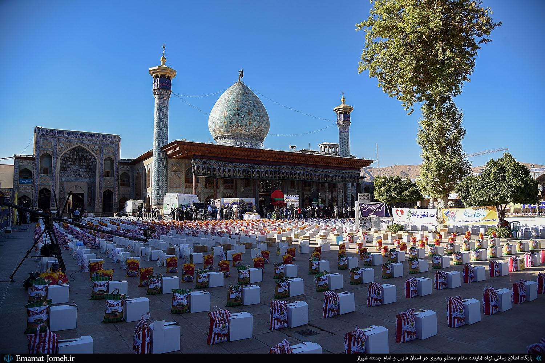 رزمایش مواسات، همدلی و کمک مومنانه در شیراز با حضور آیت الله دژکام