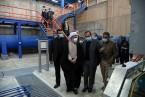 بازدید آیت الله دژکام از مجتمع تصفیهخانه آب و سد درودزن و مراحل احداث تونل خط دوم انتقال آب به شیراز