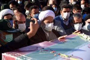 مراسم استقبال از شهدای تازه تفحص شده ۸ سال دفاع مقدس در شیراز