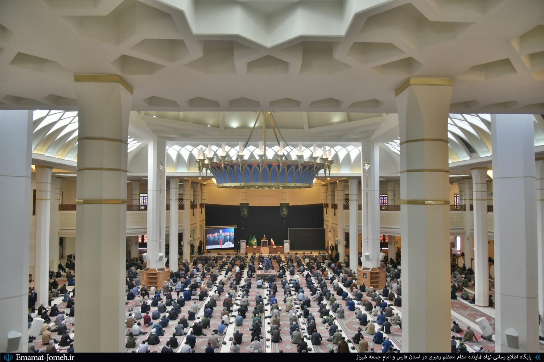 نماز جمعه ۱۹ دی ماه ۹۹ شیراز به امامت آیت الله دژکام