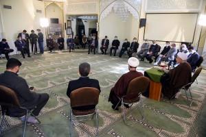 حضور آیت الله دژکام در جمع مدیران و معاونین صداوسیمای مرکز فارس