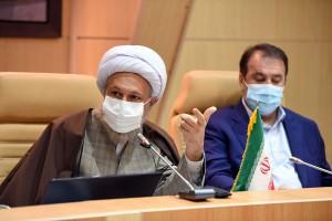 جلسه شورای فرهنگ عمومی به صورت ارتباط مجازی با حضور آیت الله دژکام