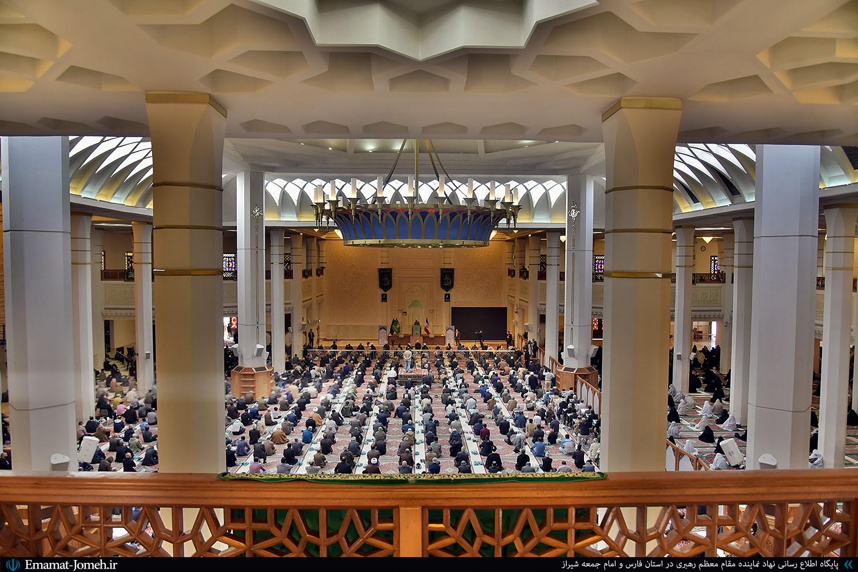 نماز جمعه ۳ بهمن ماه ۹۹ شیراز به امامت آیت الله دژکام