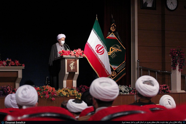 محفل انس علماء، روحانیون و جمعی از مسئولین استان فارس