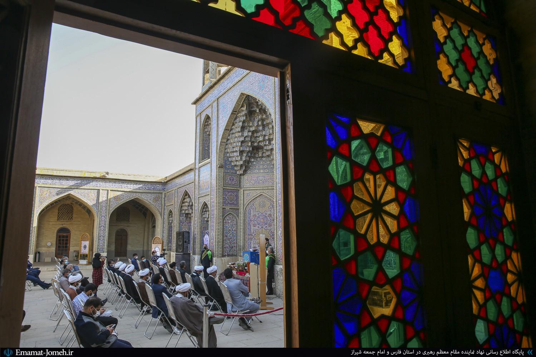 محفل انس با قرآن در مسجد نصیرالملک با حضور آیت الله دژکام
