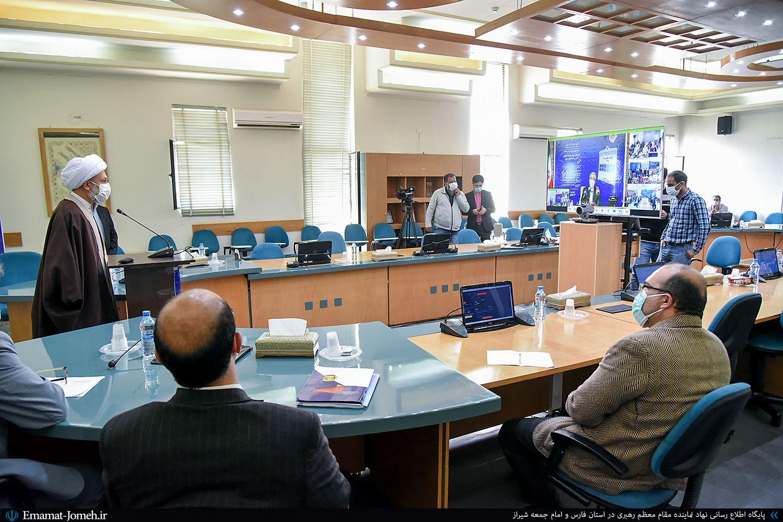 مراسم افتتاح چند پروژه های شرکت برق منطقه ای فارس به صورت ارتباط مجازی