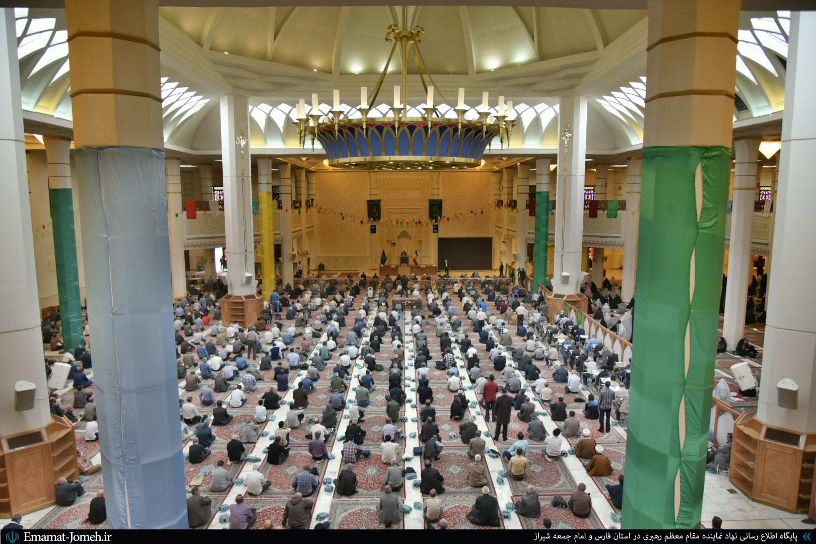آخرین نماز جمعه سال ۹۹ به امامت آیت الله دژکام