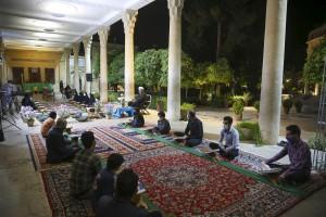 ویژه برنامه «دولت قرآن» در جوار آرامگاه حافظ