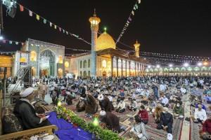 مراسم شب ولادت حضرت احمد ابن موسی الکاظم(علیه السلام) در شیراز