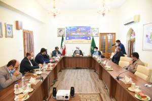 دیدار حاج محمدی رئیس سازمان زندان های کشور با آیت الله دژکام
