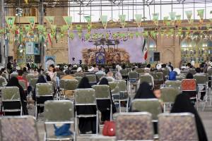 مراسم جشن عید سعید غدیر خم با حضور آیت الله دژکام در مسجد شهدای شیراز