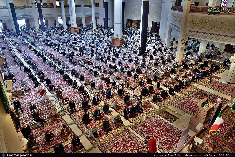 نماز جمعه ۲۶ شهریور ۱۴۰۰ شیراز به امامت آیت الله دژکام