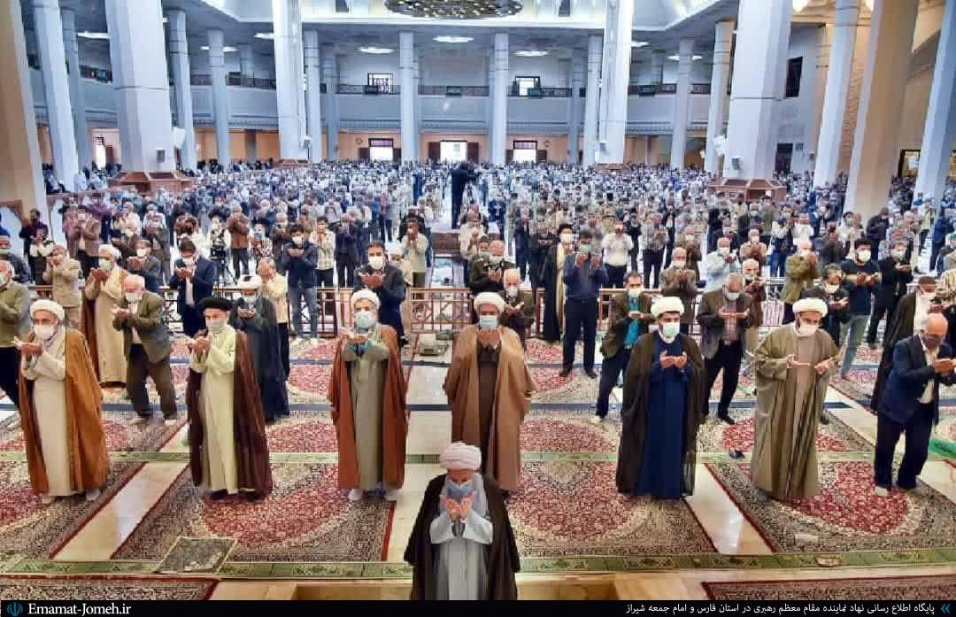 نماز جمعه ۱۹شهریور ۱۴۰۰ شیراز به امامت آیت الله دژکام