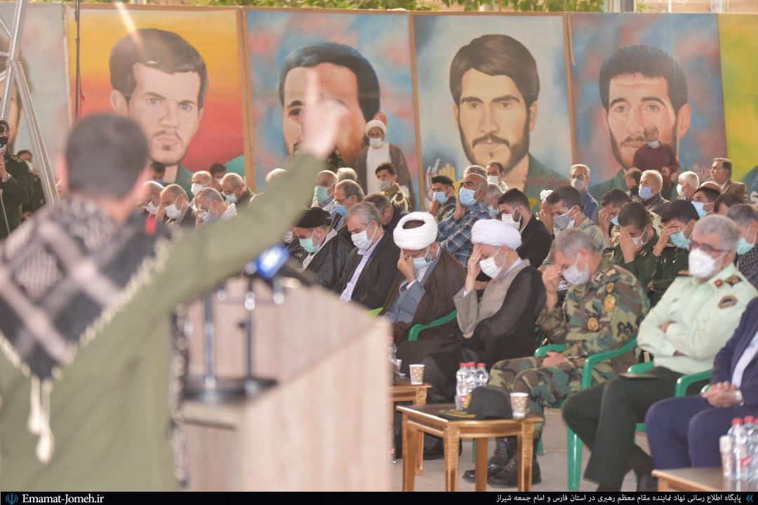 مراسم تجلیل و تکریم از پیشکسوتان دفاع مقدس در شیراز